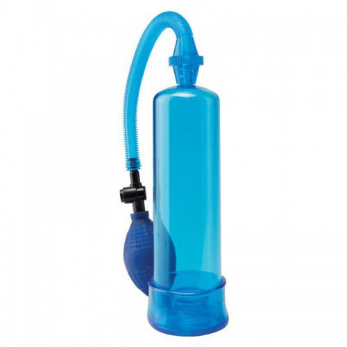Pipedream Bomba de Vacio Beginners Power Pump Blue