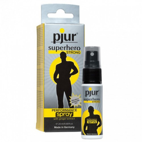 Spray Retardante Pjur Superhero Strong 20 ml