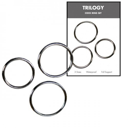 Kit 3 Anillas Metalicas Linx Trilogy Metalizado 3.5 - 4.5 - 5.5 cm