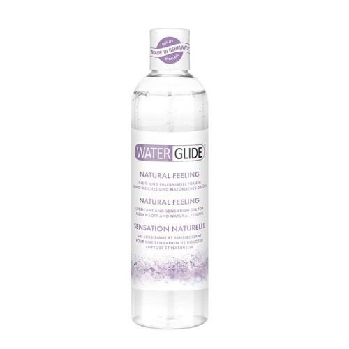 LUBRICANTE BASE AGUA WATERGLIDE NATURAL FEELING 300 ML