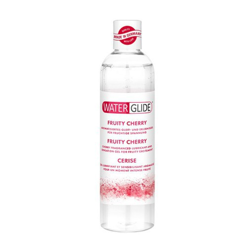 LUBRICANTE BASE AGUA WATERGLIDE CEREZA 300 ML