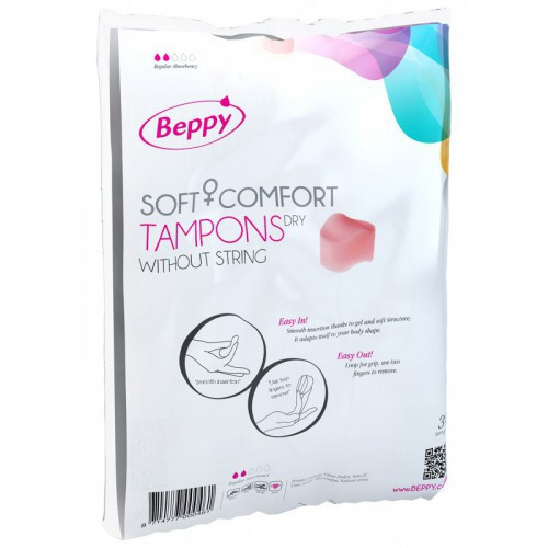 BEPPY COMFORT TAMPONS DRY 30PCS