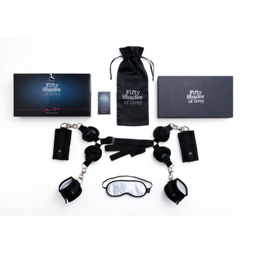 Under The Bed Restraints Kit / Soft Blindfold 50 Sombras