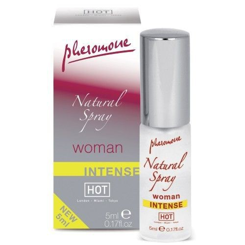 Spray concentrado de Feromonas Hot Natural Mujer 5 ml