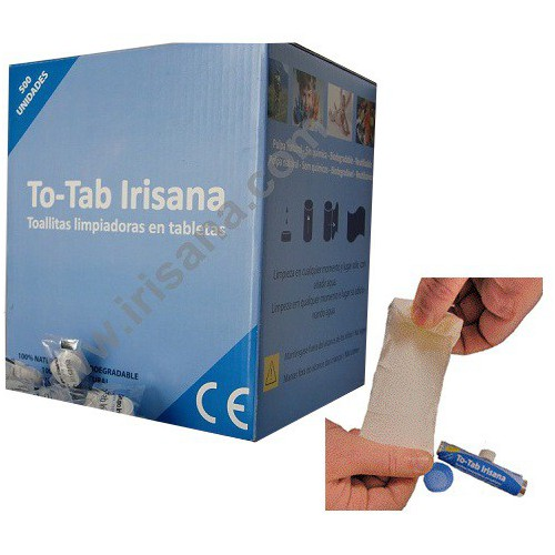 To-Tab Irisana display 500 unidades