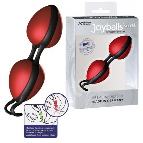 Joyballs Secret rojo negro bolas chinas