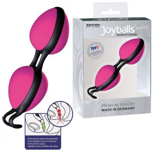 Joyballs Secret rosa negro bolas chinas