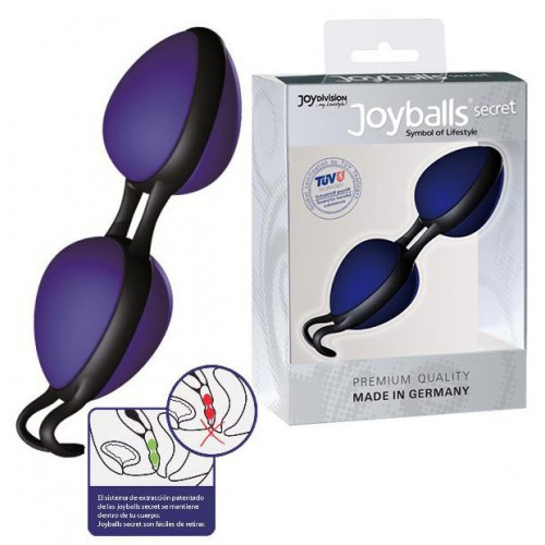Joyballs Secret azul negro bolas chinas