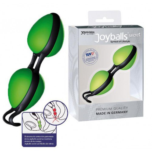 Joyballs Secret verde negro bolas chinas