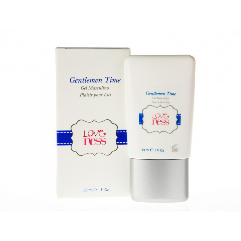Gel Potenciador Gentlemen Time - 30 ml
