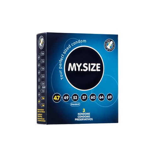 MY SIZE 47 CONDOMS 3PCS