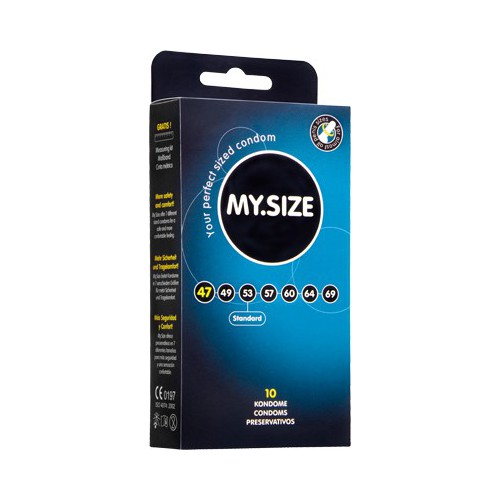 MY SIZE 49 CONDOMS 10 PCS