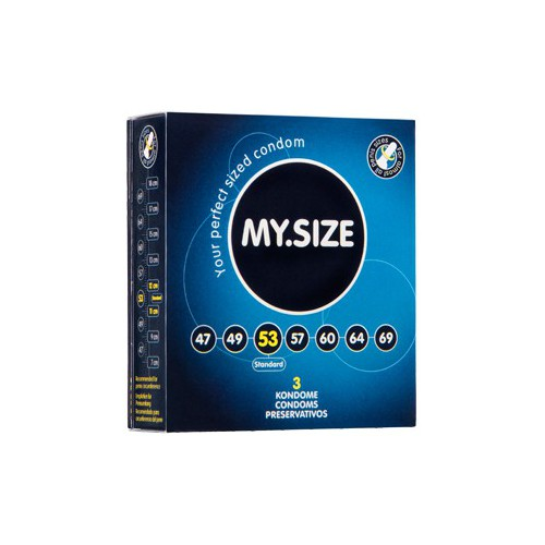 MY SIZE 53 CONDOMS 3PCS