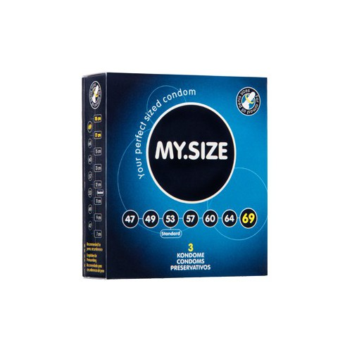 MY SIZE 69 CONDOMS 3PCS