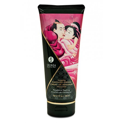 Shunga Massage Cream Frambuesa Feeling