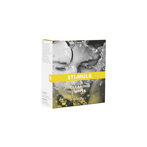 STIMUL8 CLEANING WIPES TOYS 5 PCS