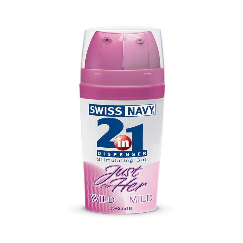 Gel Estimulante 2 en 1 Swiss Navy Mild/Wild 100 ml