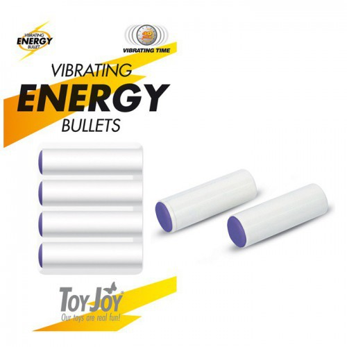 VIBRATING ENERGY BULLETS 4 PACK
