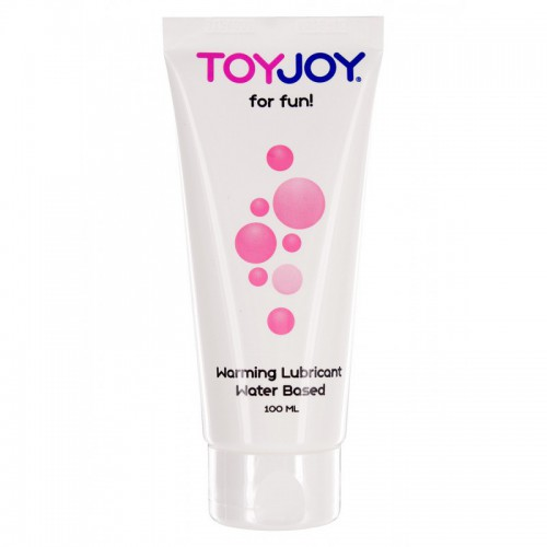 Toy Joy Lube Warning Efecto Calor 100 ml
