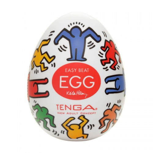 KEITH HARING EGG DANCE (X6)