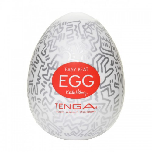 KEITH HARING EGG PARTY (X6)