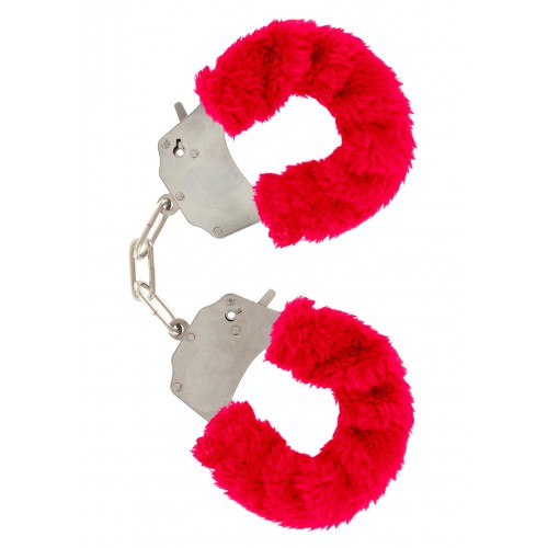 Esposas Furry Fun Cuffs Roja Plush