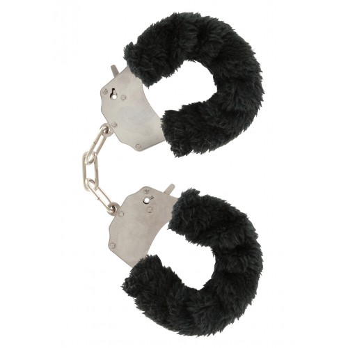 Esposas Furry Fun Cuffs Negro Plush