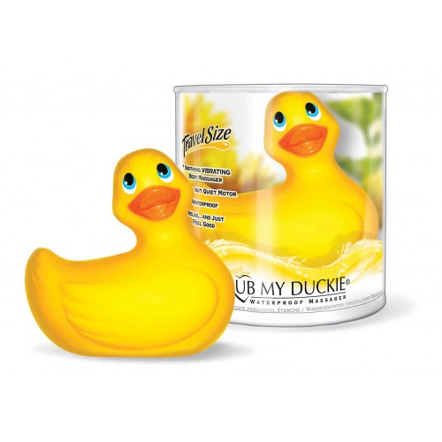 I RUB MY DUCKIE TRAVELSIZE YELLOW