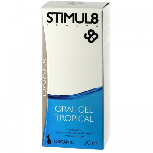 STIMUL8 ORAL GEL TROPICAL 30ML