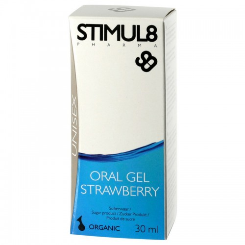 STIMUL8 ORAL GEL STRAWBERRY 30ML