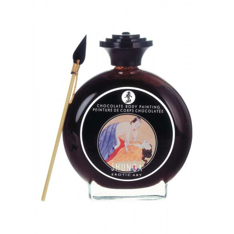 Pintura Corporal Shunga Chocolate - 100 ml
