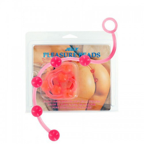 Jelly Pleasure Beads Pink
