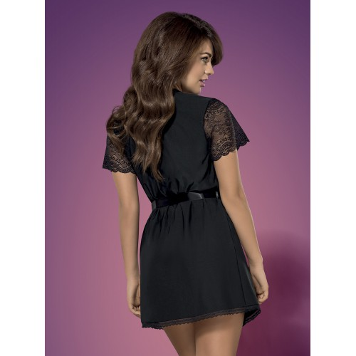 Miamor Robe & Thong L/XL