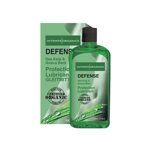 Lubricante Defense Intimate Organics - 120 ml