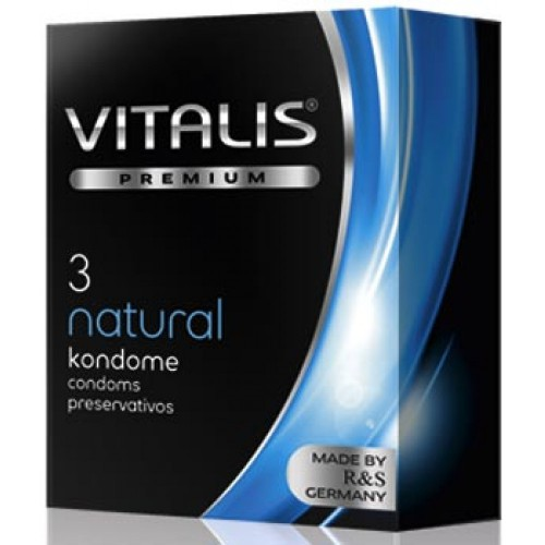 Presevativos Vitalis Natural 3 Unidades