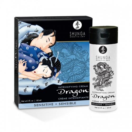 Crema Virilidad Dragon Sensitive Shunga 60 ml