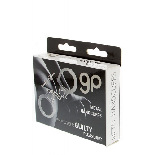 Esposas de Metal GP Handcuffs Long Chain 40 cm