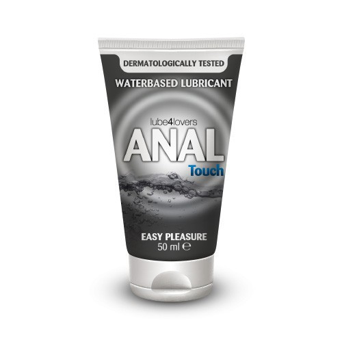 Lubricante Base Agua Anal Touch 50 M/L