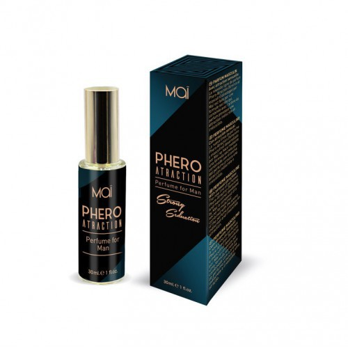 Perfume Masculino Mai Phero Atraction 30 Ml