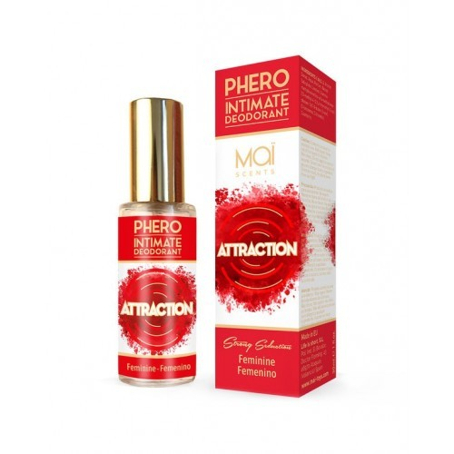 Desodorante Intimo Feminino Mai Phero Attraction 30 Ml