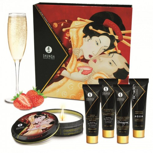 Kit Secret Geisha Fresas Cava Shunga